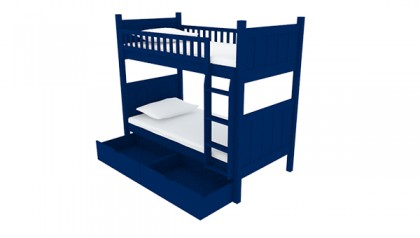 FLYNN BUNK BED NAVY