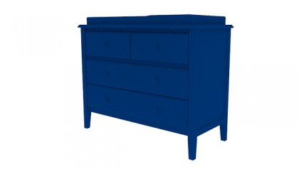 Sophie Changing Dresser Navy