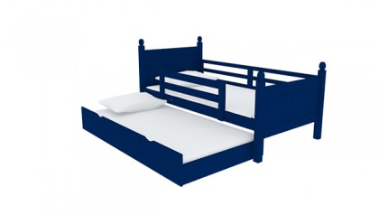 VIKING SINGLE BED NAVY