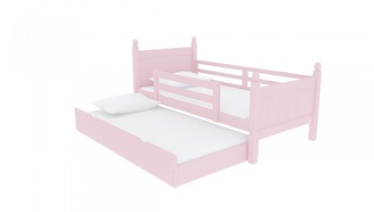 VIKING SINGLE BED PINK