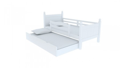 VIKING SINGLE BED WHITE