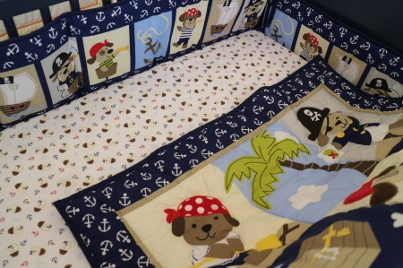Baby Bedding - Set 4 dog